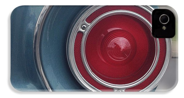 Tail Light Ford Falcon 1961 IPhone 4 / 4s Case by Don Spenner