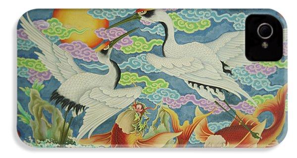 Taiwan, Peimen, Nankunshen Temple IPhone 4 / 4s Case by Jaynes Gallery