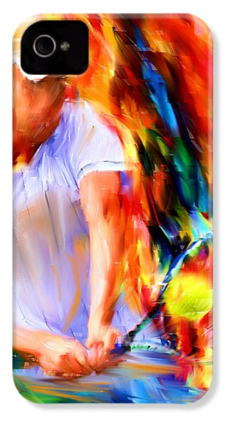 Tennis II IPhone 4 / 4s Case by Lourry Legarde