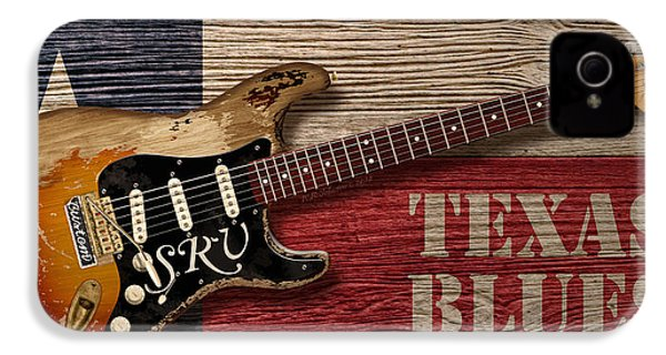 Texas Blues IPhone 4 / 4s Case by WB Johnston