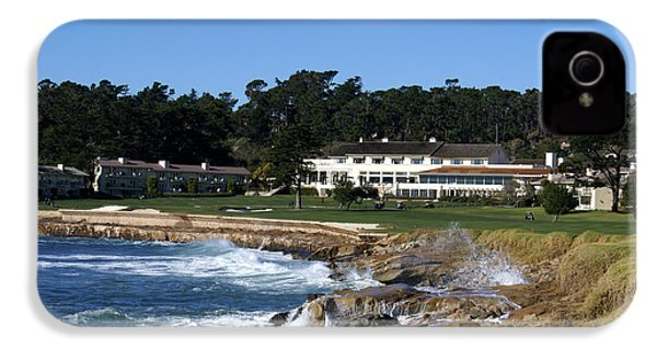 The 18th At Pebble Beach IPhone 4 / 4s Case by Barbara Snyder