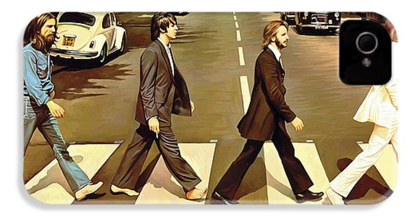 The Beatles Abbey Road Artwork IPhone 4 / 4s Case by Sheraz A