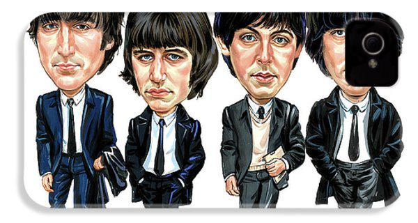 The Beatles IPhone 4 / 4s Case by Art