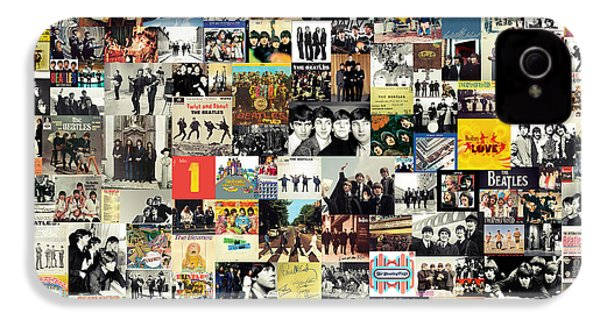 The Beatles Collage IPhone 4 / 4s Case by Taylan Soyturk