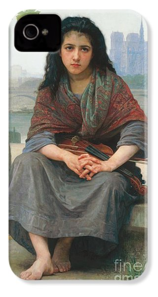 The Bohemian IPhone 4 / 4s Case by William Adolphe Bouguereau