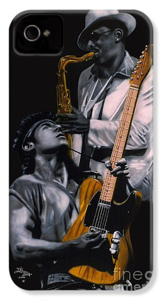 New Jersey's Bruce And Clarence IPhone 4 / 4s Case by Thomas J Herring