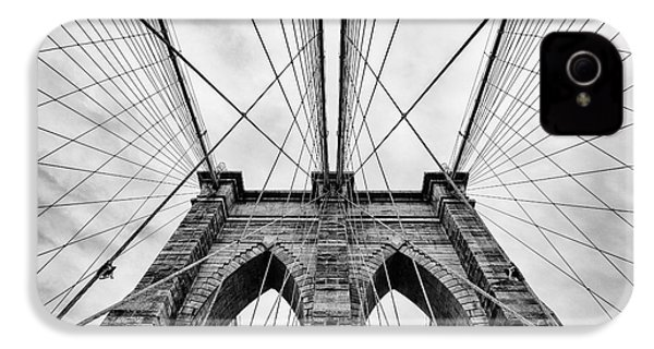 The Brooklyn Bridge IPhone 4 / 4s Case by John Farnan