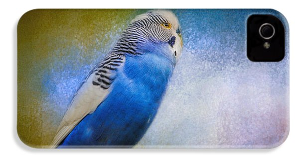 The Budgie Collection - Budgie 2 IPhone 4 / 4s Case by Jai Johnson