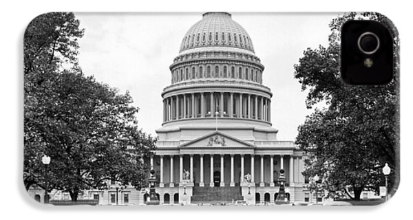 The Capitol Building IPhone 4 / 4s Case by Underwood Archives