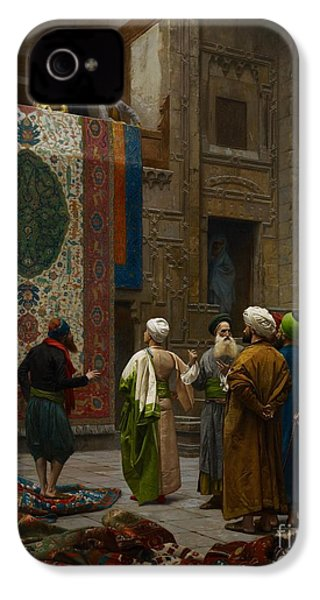 The Carpet Merchant IPhone 4 / 4s Case by Jean Leon Gerome