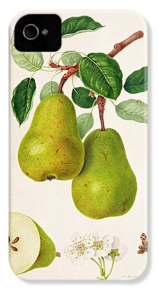 The D'auch Pear IPhone 4 / 4s Case by William Hooker