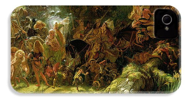 The Fairy Raid IPhone 4 / 4s Case by Sir Joseph Noel Paton