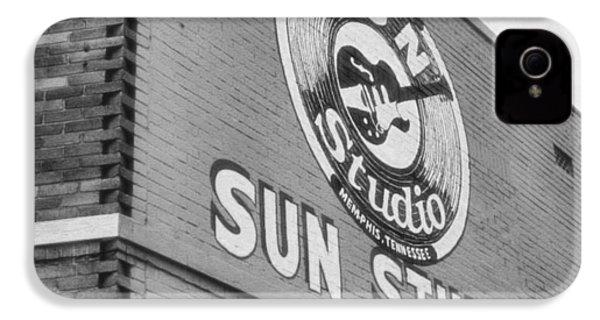 The Famous Sun Studio In Memphis Tennessee IPhone 4 / 4s Case by Dan Sproul