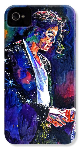 The Final Performance - Michael Jackson IPhone 4 / 4s Case by David Lloyd Glover