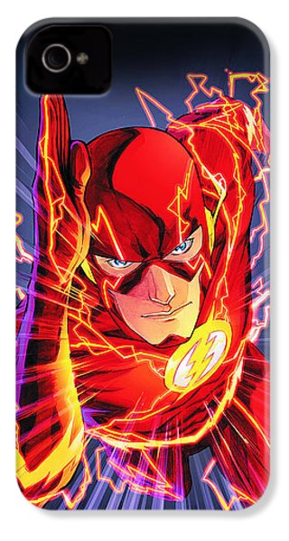 The Flash IPhone 4 / 4s Case by FHT Designs