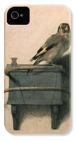 The Goldfinch IPhone 4 / 4s Case by Carel Fabritius