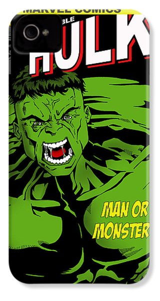 The Incredible Hulk IPhone 4 / 4s Case by Mark Rogan