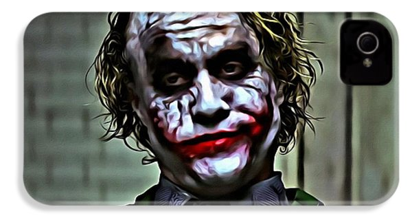 The Joker IPhone 4 / 4s Case by Florian Rodarte
