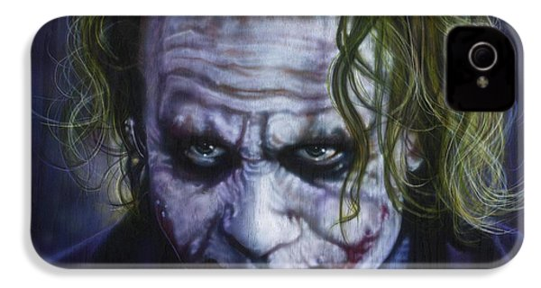 The Joker IPhone 4 / 4s Case by Tim  Scoggins
