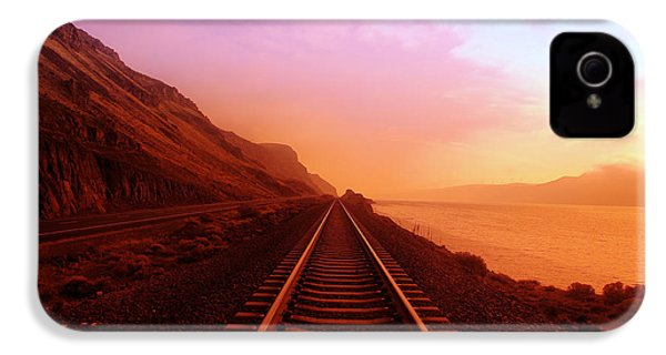 The Long Walk To No Where  IPhone 4 / 4s Case by Jeff Swan