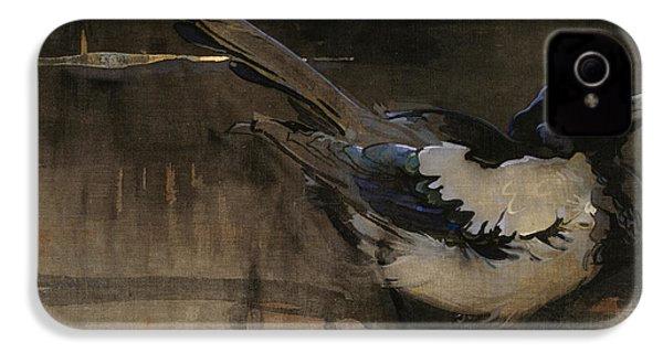 The Magpie IPhone 4 / 4s Case by Joseph Crawhall