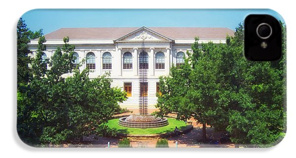 The Old Main - University Of Arkansas IPhone 4 / 4s Case by Mountain Dreams