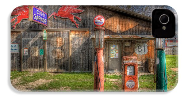 The Old Service Station IPhone 4 / 4s Case by David and Carol Kelly