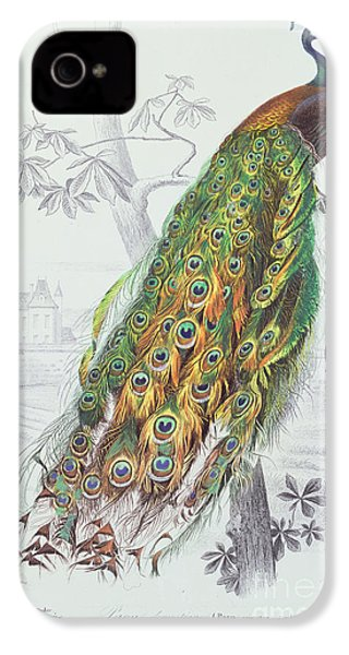 The Peacock IPhone 4 / 4s Case by A Fournier
