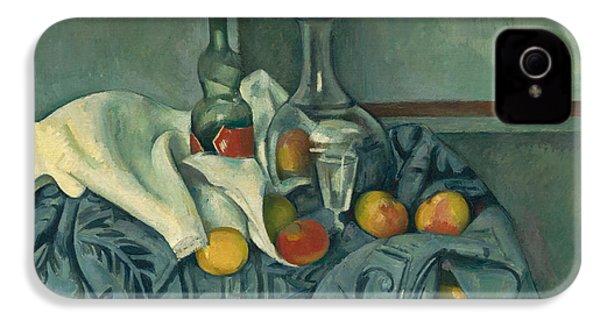 The Peppermint Bottle IPhone 4 / 4s Case by Paul Cezanne