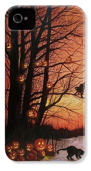 The Pumpkin Tree IPhone 4 / 4s Case by Tom Shropshire