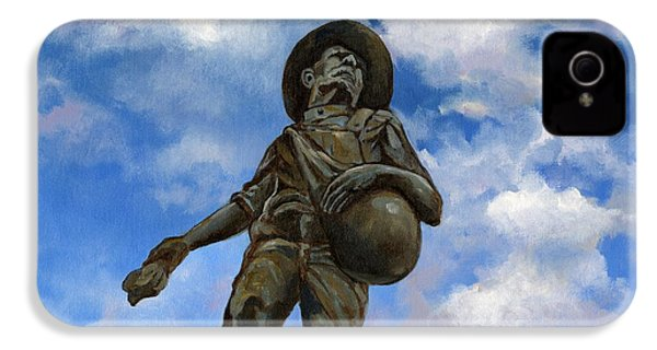 The Seed Sower IPhone 4 / 4s Case by Linda Dunbar