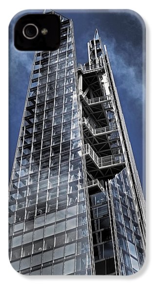 The Shards Of The Shard IPhone 4 / 4s Case by Rona Black