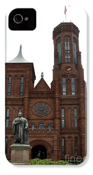 The Smithsonian - Washington Dc IPhone 4 / 4s Case by Christiane Schulze Art And Photography