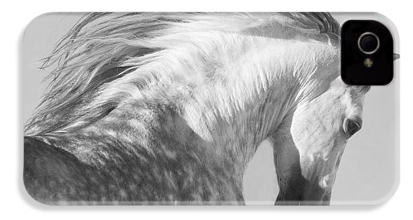 The Spanish Stallion Tosses His Head IPhone 4 / 4s Case by Carol Walker