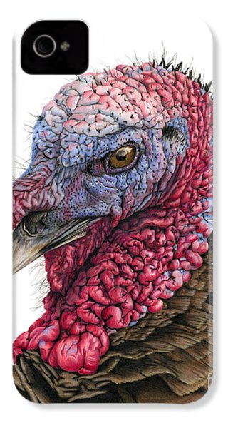 The Turkey IPhone 4 / 4s Case by Sarah Batalka