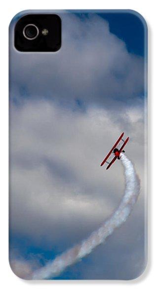 The Vapor Trail IPhone 4 / 4s Case by David Patterson