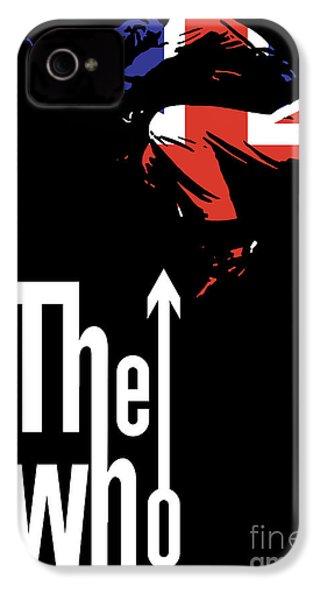 The Who No.01 IPhone 4 / 4s Case by Caio Caldas