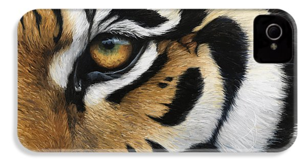 Tiger Eye IPhone 4 / 4s Case by Lucie Bilodeau