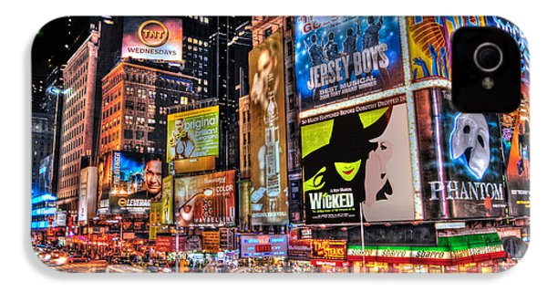 Times Square IPhone 4 / 4s Case by Randy Aveille