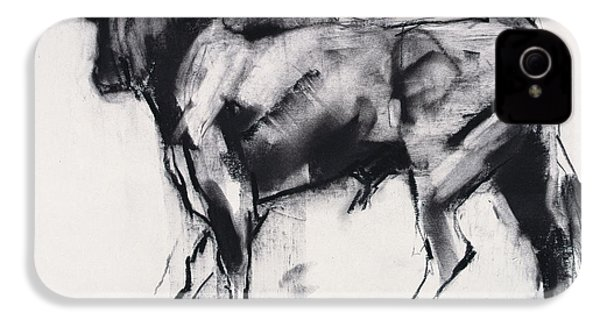 Toro Azul   Study IPhone 4 / 4s Case by Mark Adlington