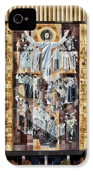 Touchdown Jesus IPhone 4 / 4s Case by Mountain Dreams