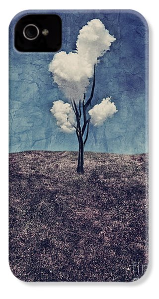 Tree Clouds 01d2 IPhone 4 / 4s Case by Aimelle