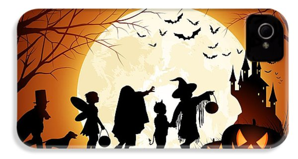 Trick Or Treat IPhone 4 / 4s Case by Gianfranco Weiss