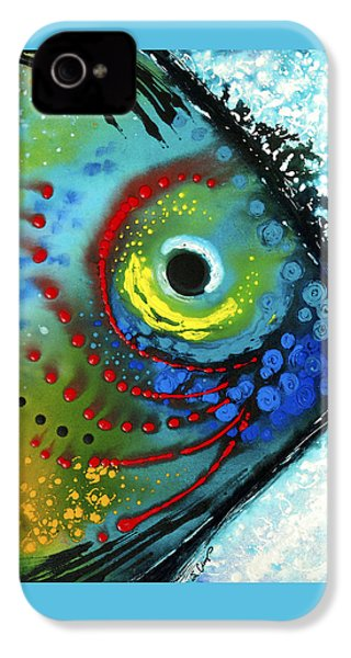 Tropical Fish - Art By Sharon Cummings IPhone 4 / 4s Case by Sharon Cummings