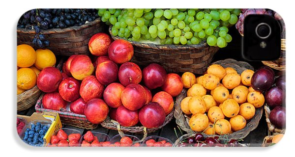 Tuscan Fruit IPhone 4 / 4s Case by Inge Johnsson