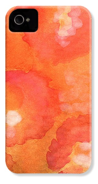 Tuscan Roses IPhone 4 / 4s Case by Linda Woods