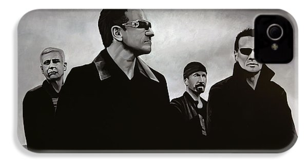 U2 IPhone 4 / 4s Case by Paul Meijering