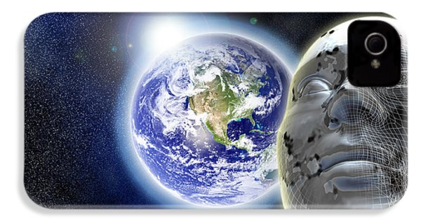 Alone In The Universe IPhone 4 / 4s Case by Stefano Senise