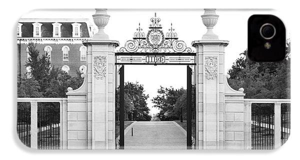 University Of Arkansas Centennial Gate IPhone 4 / 4s Case by University Icons