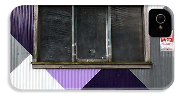 Urban Window- Photography IPhone 4 / 4s Case by Linda Woods